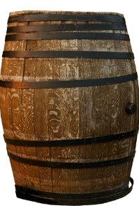 Dekoratives Weinfass für Garten oder Partyraum - Wein Hicks